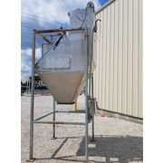 USED STAINLESS STEEL SPROUT BAUER BAG DUMP STATION