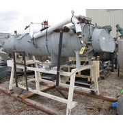 Used 62.5 Cubic Foot Stainless Steel Continuous Paddle Mixer