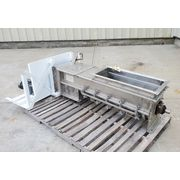 "Used 12"" Dia. X 57"" L Arch Conveying Stainless Screw Auger Feeder"