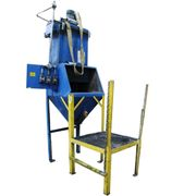 USED BAG DUMP STATION, CARBON STEEL