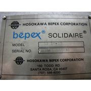 Used Hosokawa Bepex Solidaire Paddle Dryer Cooler Mdl Sj-16-10