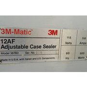 3m-matic 12af Adjustable Case Sealer System
