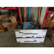 Used 1/2 HP Baldor Motor With Gear Reducer