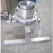 USED BULK BAG UNLOADING SPOUT - VENTED