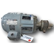 USED HYDRAULIC PUMP WITH 1 HP REULAND MOTOR
