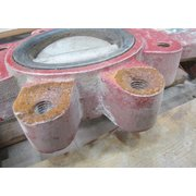 "USED 4"" MATCO-NORCA MANUAL BUTTERFLY VALVE"