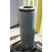 "Used 8""ø  Nyb Inlet Silencer"