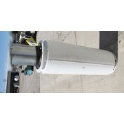 "Used 8""Ø New York Blower Inlet Silencer"