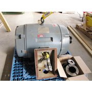 USED SIEMENS 250 HP ELECTRIC MOTOR - 445TS FRAME