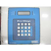Used Hardy Instruments Pro-weigh Controller In Hoffman Enclosure