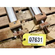 Used Norgren Pneumatic Actuators / Cylinders (pair) - 2 1/2 X 22""