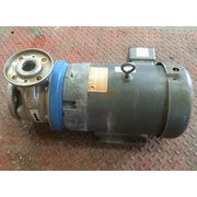 Used 7.5 HP Goulds 316 Stainless Steel Centrifugal Pump 1.5x2.5-6 SSH 4SH1K5C0