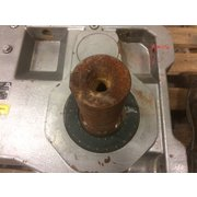 Used Nord Unicase 5 HP Gear Motor [95.56:1 ratio]