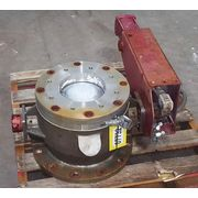 "Used 8"" Clyde Bergemann Pneumatics Spheri Dome Spherical Valve"