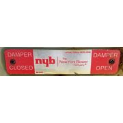 Used New York Blower Damper