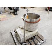 Used 25 Gallon Stainless Steel Mix Kettle Tank