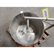 Used Steel Mix Kettle Tank - 25 Gallon
