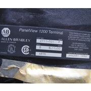 Used Allen-bradley A-b Panelview 1200 Terminal 2711-tc1