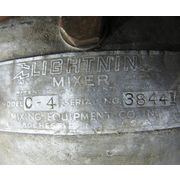 Used 1/4 HP CLAMP ON LIGHTNIN MIXER MODEL C-4