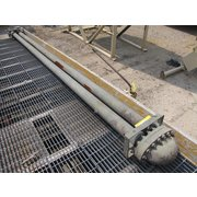 Used 37 sq ft ALCO Products DOUBLE PIPE HEAT EXCHANGER Condensate Cooler