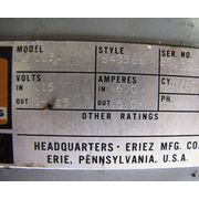 6 AMP CONTROLLER FOR ERIEZ VIBRATING PAN FEEDER