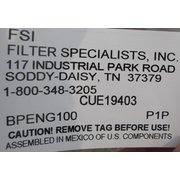 Fsi Filter Specialist, Inc. Filter Bags (lot)