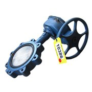 "8"" DIAMETER DEZURIK MANUAL ACTUATING BUTTERFLY VALVE"