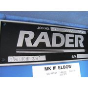 "Unused 8"" Rader Mk Iii Elbow, 39°"