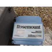 ROSEMOUNT MAGNETIC FLOWMETER MODEL 8722 WITH SOLIDS CONCENTRATION MONITORS