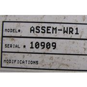 WARREN RUPP SPEED CONTROL SYSTEM MODEL ASSEM-WR1