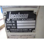 USED JACOBSON HAMMERMILL ROTARY FEEDER FOR HAMMERMILL W/ MAGNET