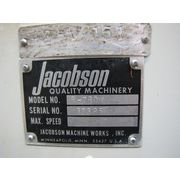 Used Jacobson Hammermill Rotary Vane Feeder / Magnet Adapter