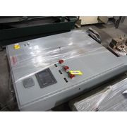 Used GE Fanuc PLC with PanelMate MMI in cabinet