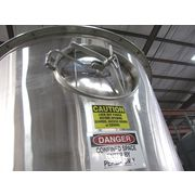 Used K-tron Soder Stainless Loss-in-weight Feed Hopper With Ksm & Ksu-ii Control