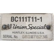 USED UNION SPECIAL SEWING HEAD - MODEL BC111T11-1 [PARTS]