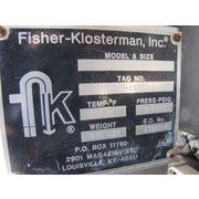 Used Stainless Steel Fisher Klosterman Cyclone Separator - Xq Series