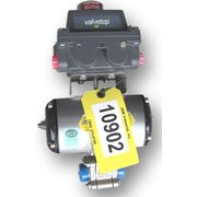 USED MARS PNEUMATIC ACTUATED BALL VALVE - SERIES 88