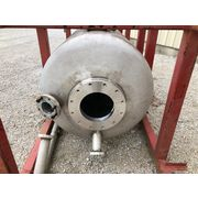 Used 50 Cubic Foot Clyde Pneumatic Conveying Stainless Steel Weigh Tank