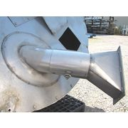 USED PREMIER PNEUMATICS INC. STAINLESS STEEL SURGE TANK - 44 CU. FT.