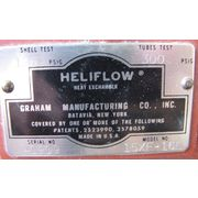 USED GRAHAM MFG. HELIFLOW HEAT EXCHANGER - MODEL 15XF-16L