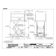 Autoquip Double Pantograph Lift - Model 96dp30exw