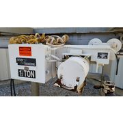 Used Control And Metering Bulk Bag Discharger With Hoist