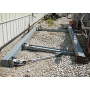 LOT OF 2 MAST STYLE JIB CRANES