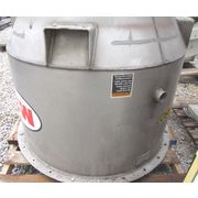 USED MAC STAINLESS STEEL HOPPER - 18 CU. FT.