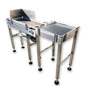 "12"" Wide X 44"" Long Tri-star Stainless Steel Packaging Conveyor"