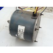 USED GE 1/4 HP ELECTRIC MOTOR, 1100 RPM, 460 VOLT SINGLE PHASE