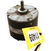 USED GE MOTORS 1/4 HP ELECTRIC MOTOR, 1100 RPM, 460V, 1 PHASE