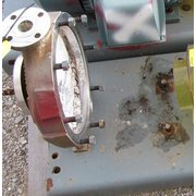 USED STAINLESS STEEL CENTRIFUGAL PUMP HOUSING