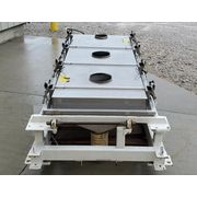 "Used 40"" X 84"" Rotex Single Deck Screener Model 3431 SAN SS/SS"