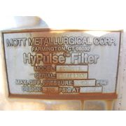 "Used Mott Hypulse Lsi 10"" Filter - 21 Sq. Ft."